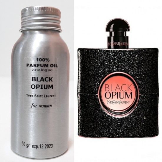 Парфюмерное масло Yves Saint Laurent Black Opium 50 ml