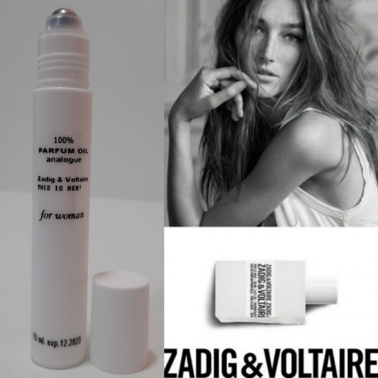 Масло Zadig & Voltaire This is her 15 ml