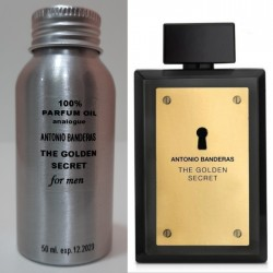 Парфюмерное масло Antonio Banderas The Golden Secret 50 ml