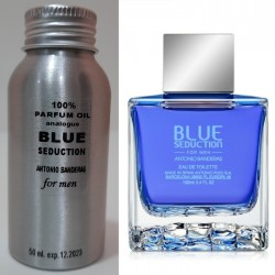 Парфюмерное масло Antonio Banderas Blue Seduction for Men 50 ml