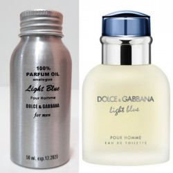 Парфюмерное масло Dolce & Gabbana Light Blue Pour Homme 50 ml